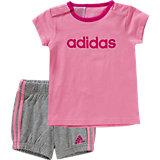 Baby Set: T-Shirt + Shorts für Mädchen