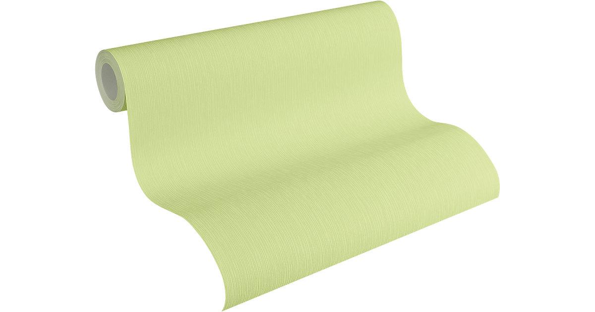 Tapete Strukturstreifen, grün