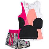 Sommer Set Mickey Mouse: T-Shirt + Shorts für Mädchen
