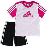 Sommer Set: T-Shirt + Shorts für Mädchen