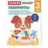 """Развивающая книга """"Лабиринты"""" (3+) GAKKEN"""