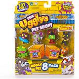 8 фигурок, Ugglys Pet Shop, в ассортименте