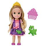 """Кукла  """"Малышка с питомцем: Рапунцель"""", 15 см, Disney Princess"""