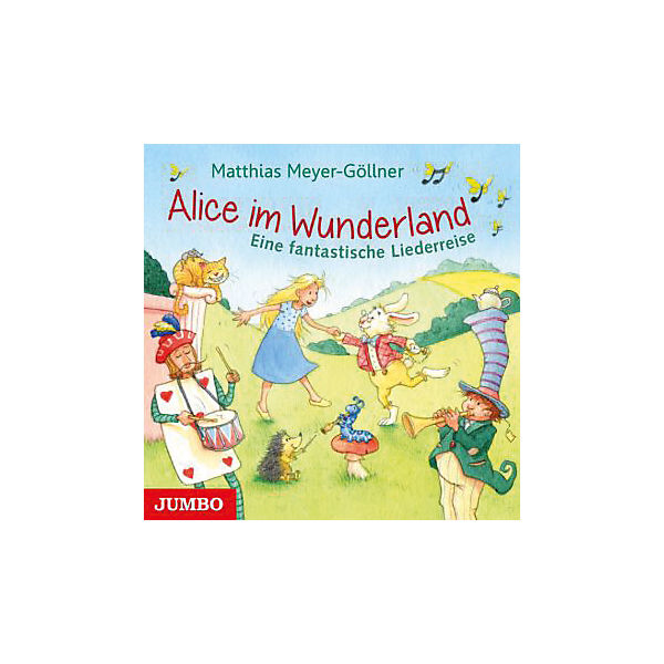 Alice im Wunderland, Audio-CD