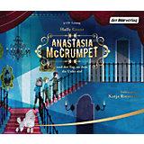 Anastasia McCrumpet und der Tag, an dem die Unke rief, 4 Audio-CDs