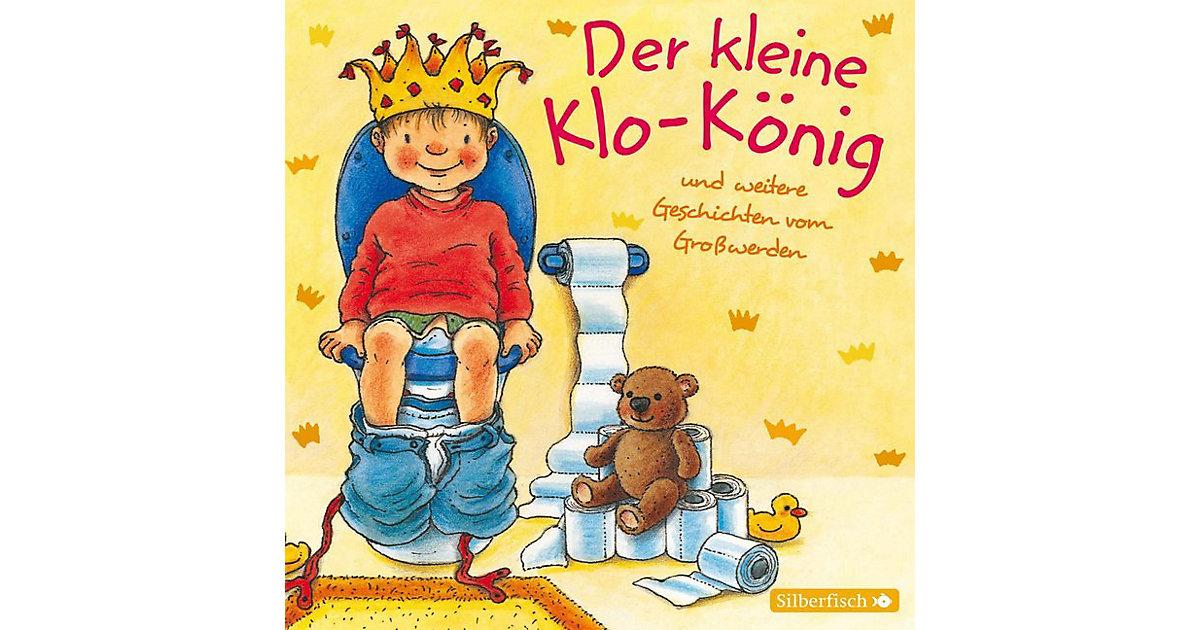 Der kleine Klo-König, 1 Audio-CD Hörbuch