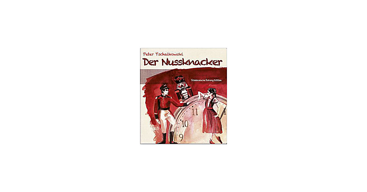 Der Nussknacker, 1 Audio-CD Hörbuch
