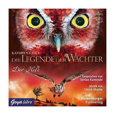 Die Legende der Wächter: Der Held, 3 Audio-CDs