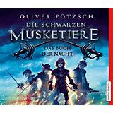 Die schwarzen Musketiere, 5 Audio-CDs