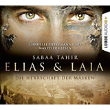 Elias & Laia: Die Herrschaft der Masken, 4 Audio-CDs