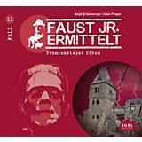 Faust jr. ermittelt - Frankensteins Erben, 1 Audio-CD