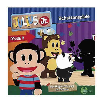 Julius Jr. - Schattenspiele, 1 Audio-CD