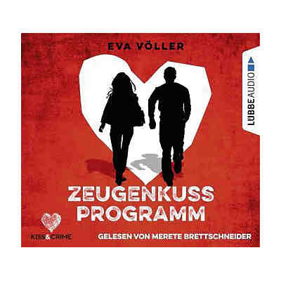 Kiss & Crime: Zeugenkussprogramm, 4 Audio-CDs