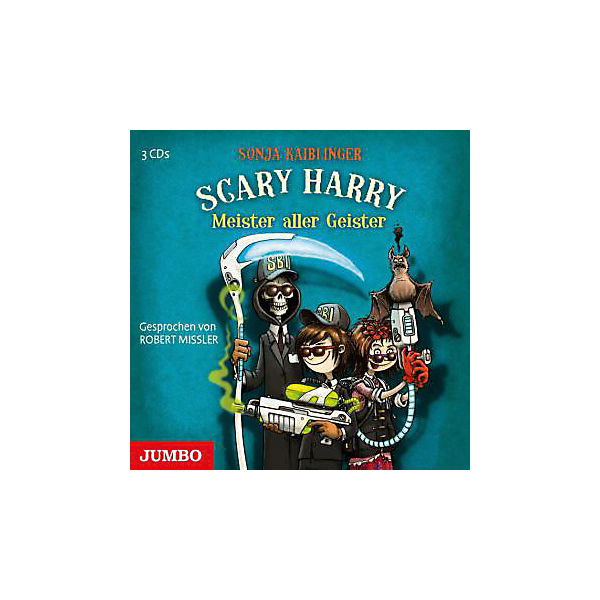 Scary Harry: Meister aller Geister, 3 Audio-CDs
