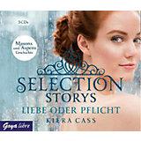 Selection Storys - Liebe oder Pflicht, 3 Audio-CDs