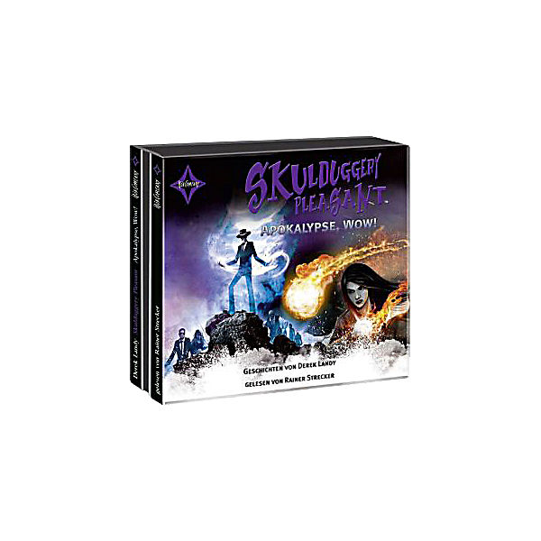Skulduggery Pleasant: Apokalypse, Wow!, 3 Audio-CDs