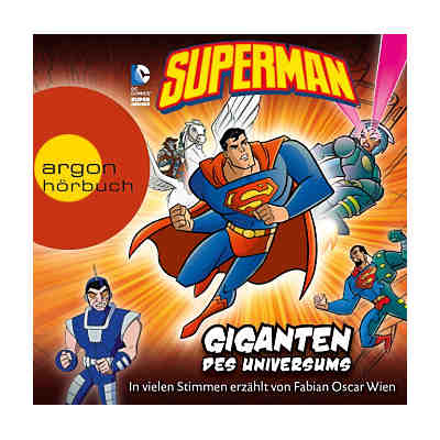 Superman: Giganten des Universums, 1 Audio-CD
