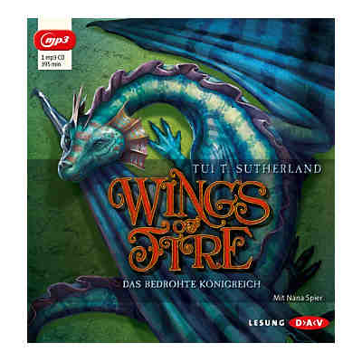 Wings of Fire: Das bedrohte Königreich, 1 MP3-CD