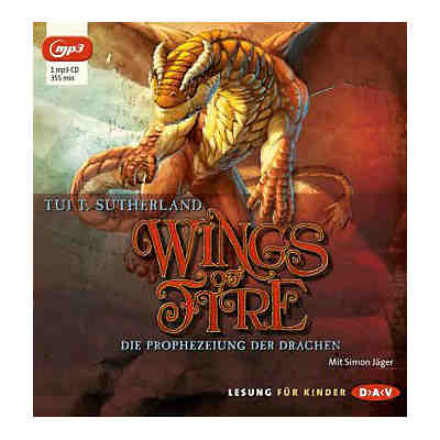 Wings of Fire: Die Prophezeiung der Drachen, MP3-CD