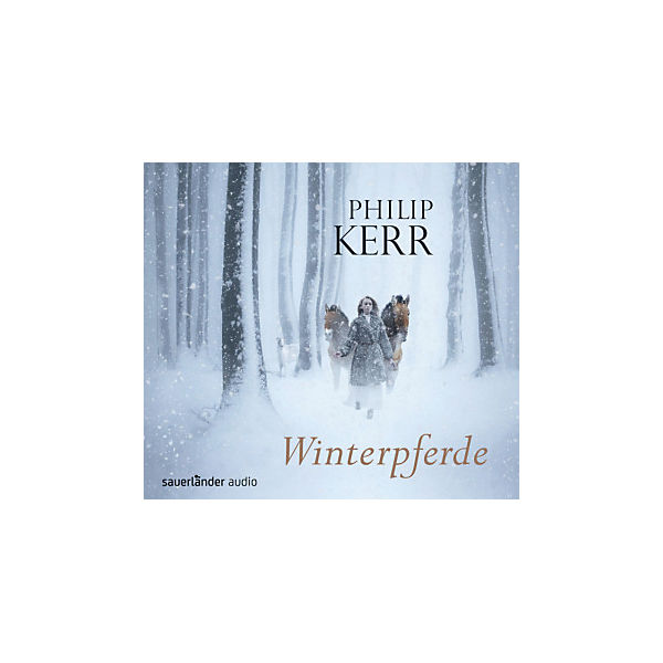 Winterpferde, 4 Audio-CDs