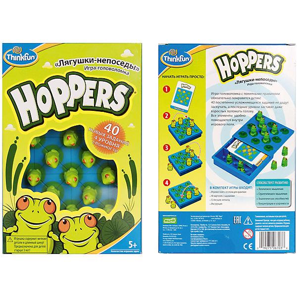 Лягушки-непоседы Hoppers, Thinkfun