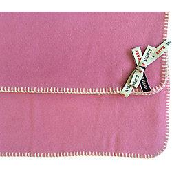 Плед из шерсти 65х90 см., Klippan, розовый