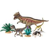 Schleich Saurier: 42264 Giganotosaurus und Velociraptor 4er Pack Dinos