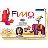 FIMO soft Jubliäumsedition Nostalgie, 12 x 57 g in Metallbox