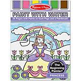 """Рисуем водой """"Принцессы"""""""