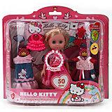Кукла Машенька с одеждой, Hello kitty, 15см, Карапуз