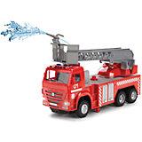 Пожарная машина, свет+звук, Технопарк