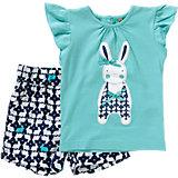 Baby Set T-Shirt + Shorts für Mädchen