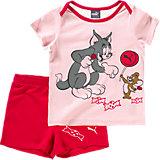 Baby T-Shirt & Hose Set Tom & Jerry für Mädchen