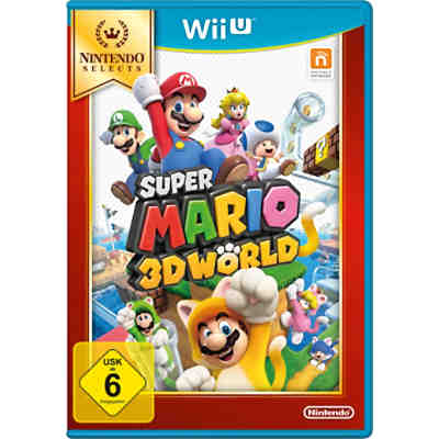Wii U Super Mario 3D World Selects