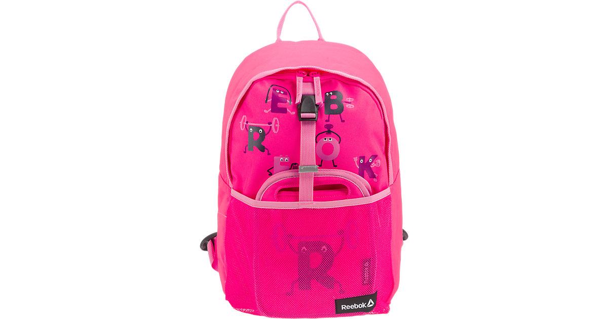 Rucksack-Set Kinder 2-tlg. pink Kinder
