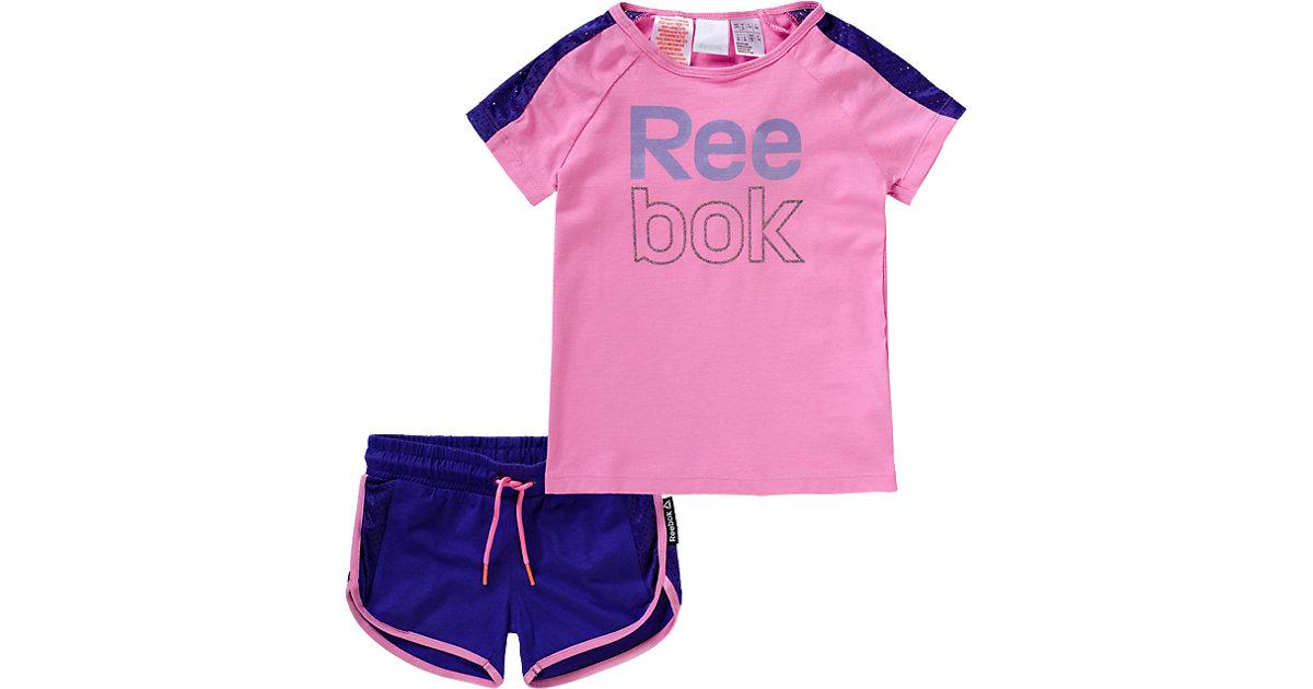 Set aus T-Shirt und Shorts pink Gr. 116 Mädchen Kinder