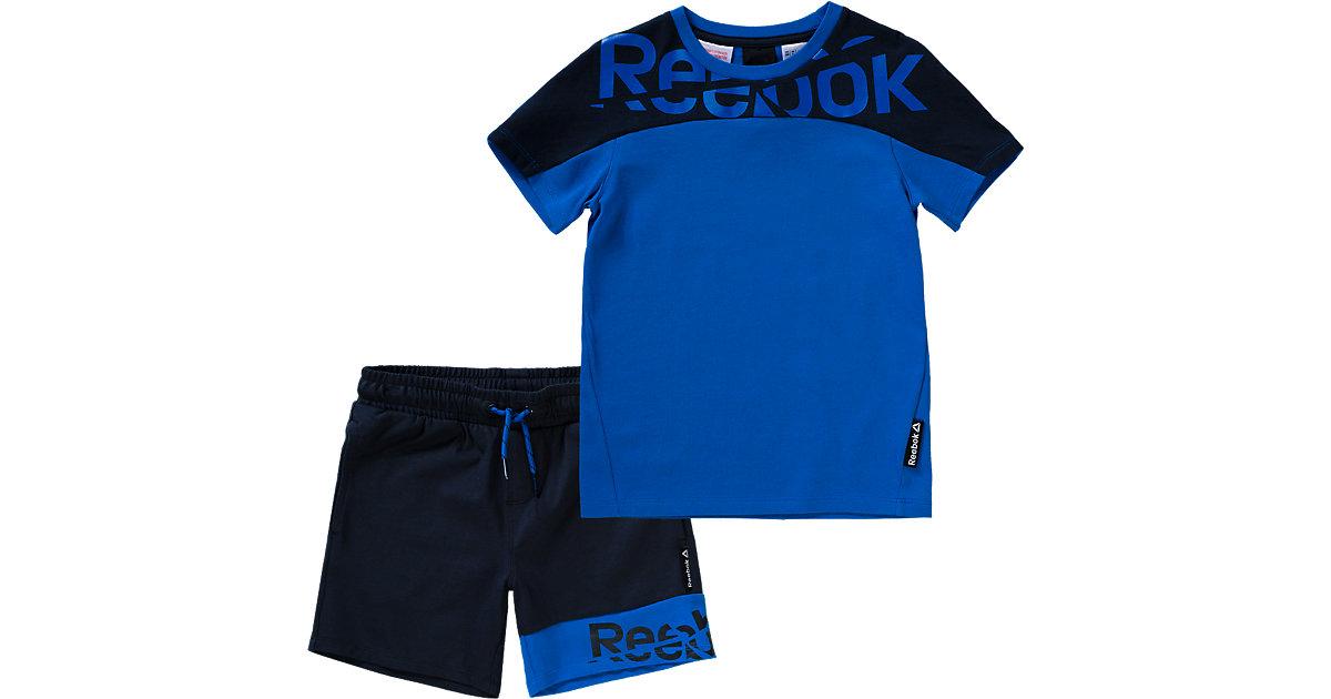 Set aus T-Shirt und Shorts rot Gr. 164 Jungen Kinder