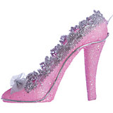 "ёл. укр. ""PINK DREAMS"" туфелька, 9*14см, 1шт, розов."