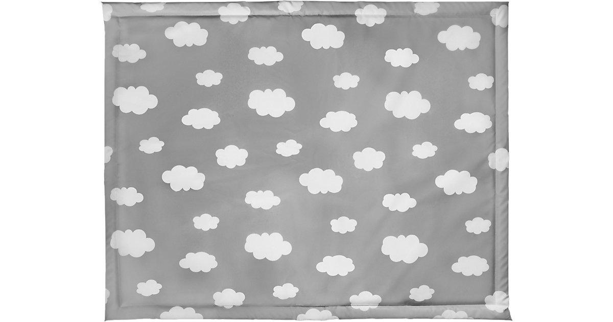 Laufgittereinlage, Wolke, grau, 75 x 95 cm Gr. 75 x 100