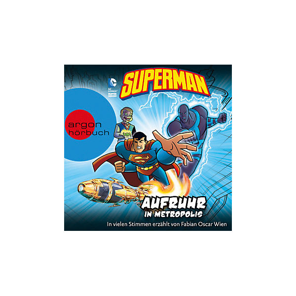 Superman: Aufruhr in Metropolis, 1 Audio-CD