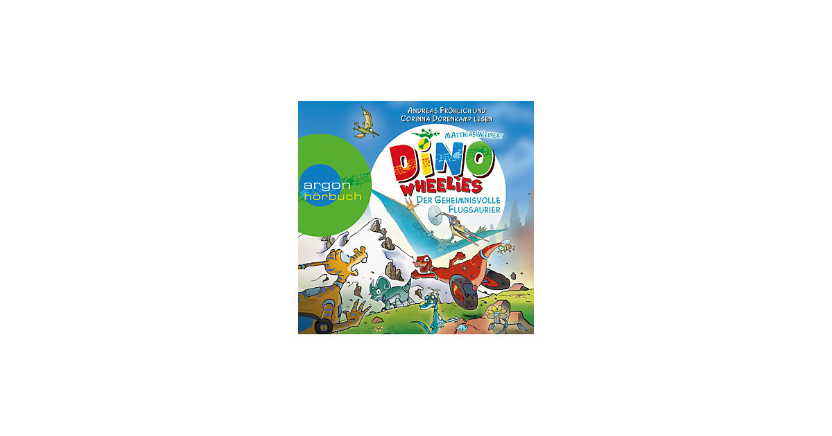 Dino Wheelies: Der geheimnisvolle Flugsaurier, 1 Audio-CD Hörbuch