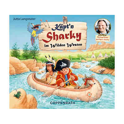 Käpt'n Sharky im Wilden Westen, Audio-CD