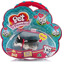 Фигурка собачки в комплекте с косточкой и поводком, Pet Parade, в ассортименте