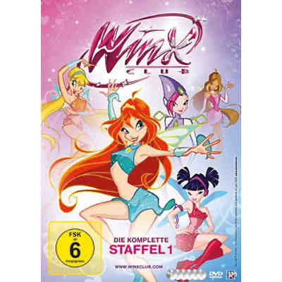 DVD Winx Club - Die komplette Staffel 1 (6 DVDs)