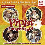 CD Pippi Langstrumpf- Die große Hörspiel zu allen 4 Kinofilmen