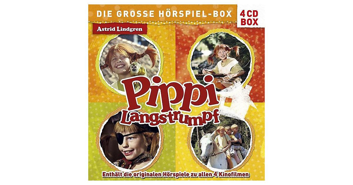 CD Pippi Langstrumpf- Die große Hörspiel zu all...
