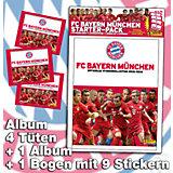 Starter-Set Sticker FC Bayern München 2015/2016