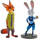 BULLYLAND Comicwelt - Disney Zoomania - Geschenk-Set