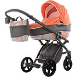 Kombi Kinderwagen Alive Energy, orange