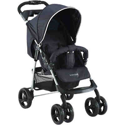 Sportwagen V-Easy Fold Happy Colour, schwarz